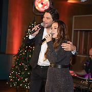 NLD/Hilversum/20181002 - Artiesten Holland zingt Kerst 2018, Xander de Buisonje en Trijntje Oosterhuis