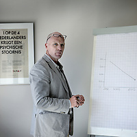 Nederland, Amersfoort , 11 augustus 2010..Hamp Harmsen projectleider dwang en drang GGZ Nederland..Foto:Jean-Pierre Jans