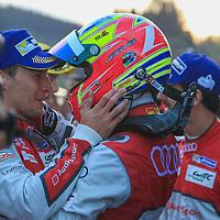 Loic Duval and Lucas di Grassi (Audi) FIA WEC 6hrs of Spa 2016, 07/05/2016,