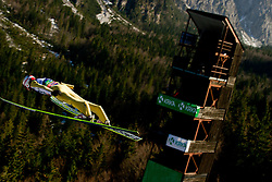 Robert Kranjec of Slovenia during Flying Hill Individual at 2nd day of FIS Ski Jumping World Cup Finals Planica 2012, on March 16, 2012, Planica, Slovenia. (Photo by Matic Klansek Velej / Sportida.com)