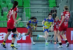 Handball match between RK Krim Mercator (SLO) and Metz Handball (FRA) in season 2011/2012 of EHF Women's Champions League, on March 10, 2012 in Arena Stozice, Ljubljana, Slovenia. Krim defeated Metz 28-24. (Photo By Grega Valancic / Sportida.com)