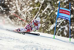 Manuel Feller (AUT) competes during 9th Men's Giant Slalom race of FIS Alpine Ski World Cup 55th Vitranc Cup 2016, on March 4, 2016 in Kranjska Gora, Slovenia. Photo by Vid Ponikvar / Sportida