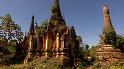 Shwe Inn Dain Pagoda Complex is near the Inn Dain Khone village on the western bank of Inle Lake.  There are apparently 1054 pagodas.