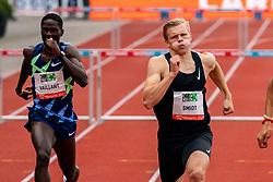 NickSmidtof Netherlands in action on the 400 meter hurdle during FBK Games 2021 on 06 june 2021 in Hengelo.