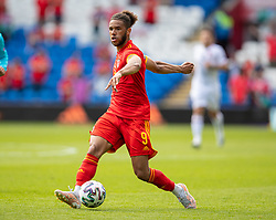 CARDIFF, WALES - Saturday, June 5, 2021: Wales' Tyler Roberts during an International Friendly between Wales and Albania at the Cardiff City Stadium in their game before the UEFA Euro 2020 tournament. (Pic by David Rawcliffe/Propaganda)