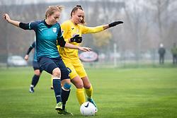 Luana Zajmi of ZNK Pomurje during football match between ŽNK Pomurje and ŽNK Krim in 12th Round of Slovenska ženska nogometna liga 2020/21, on November 15, 2020 in TŠC Trate, Gornja Radgona, Slovenia. Photo by Blaž Weindorfer / Sportida