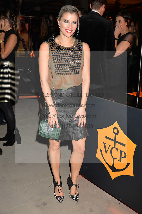 Pips Taylor at the Veuve Clicquot Widow Series launch party curated by Carine Roitfeld and CR Studio held at Islington Green, London England. 19 October 2017.