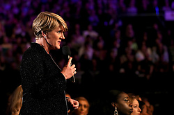 Presenter Clare Balding during the BBC Sports Personality of the Year 2018 at Birmingham Genting Arena.