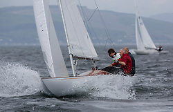International Dragon Class Scottish Championships 2015.<br /> <br /> Day 1 racing in perfect conditions.<br /> <br /> GBR790, FLOTATION, Richard Davies, Royal Thames YC\<br /> <br /> <br /> Credit Marc Turner