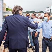 Presentación a los medios del Xacobeo 6mR Europeans 2021 organizado por el Real Club Náutico de Sanxenxo.<br /> ©SailingShots by María Muiña Photography