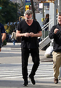 Oct. 13, 2015 - New York City, NY, USA - <br /> <br /> Actor Ray Liotta wears white pads under his eyes on the Brooklyn set of the new TV show 'Shades of Blue' on October 13 2015 in New York City  <br /> ©Exclusivepix Media
