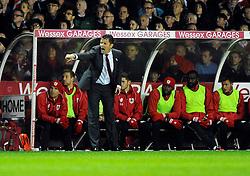 Bristol City manager, Steve Cotterill  - Photo mandatory by-line: Joe Meredith/JMP - Mobile: 07966 386802 - 21/10/2014 - SPORT - Football - Bristol - Ashton Gate - Bristol City v Bradford City - Sky Bet League One