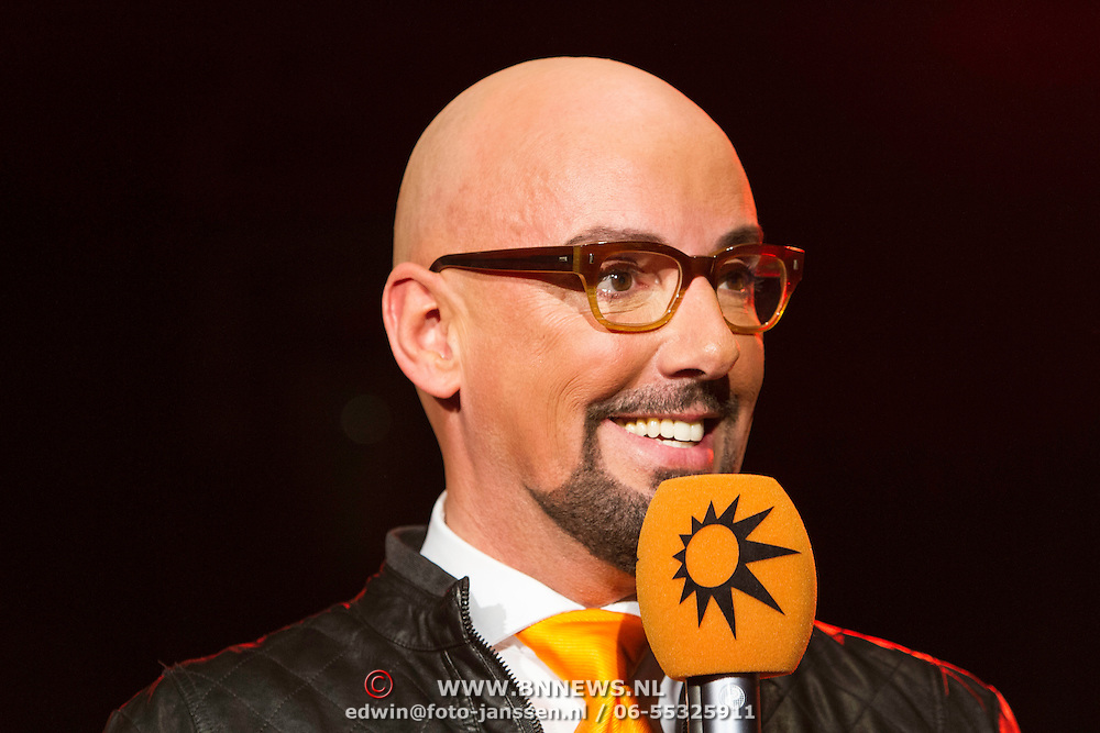 NLD/Amsterdam/20140205 - Uitreiking 100% NL Awards 2013, Maik de Boer