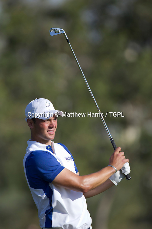 Martin KAYMER (GER) during fourth round,Abu Dhabi HSBC Championship 2013,Abu Dhabi Golf Club,Abu Dhabi,20th January 2013.