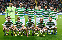 Celtic team group before kick off.