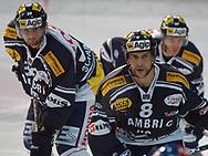 Ambris Fabio Schumacher, Nicola Celio und Paolo Imperatori sind bereit f¸r das n‰chste Bully © Pascal Gabriel
