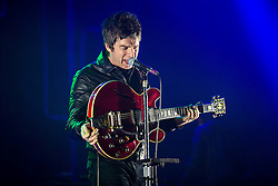 "© Licensed to London News Pictures . 02/12/2015 . Manchester , UK . NOEL GALLAGHER performs . "" Radio X Road Trip "" at the O2 Apollo in Manchester . Photo credit : Joel Goodman/LNP"