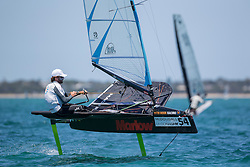 Day 3 of the McDougall + McConaghy 2015 Moth Worlds, Sailing Anarchy and Sperry Top-Sider Moth Worlds coverage 2015, Sorrento, Australia. January 11th 2015. Photo © Sander van der Borch.