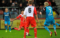 22-01-2012 VOETBAL: FC UTRECHT - PSV: UTRECHT<br /> Utrecht speelt gelijk tegen PSV 1-1 / Stefano Lilipaly<br /> ©2012-FotoHoogendoorn.nl