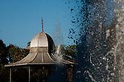 Belo Horizonte_MG, Brasil...Coreto na Praca da Liberdade em Belo Horizonte...The bandstand in the Liberdade square in Belo Horizonte...Foto: BRUNO MAGALHAES / NITRO