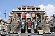 Eastern Europe, Hungary, Budapest, The Opera House