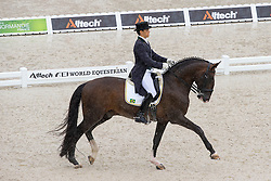 Manuel Tavares De Almeida Neto, (BRA), Vinheste - Grand Prix Team Competition Dressage - Alltech FEI World Equestrian Games™ 2014 - Normandy, France.<br /> © Hippo Foto Team - Leanjo de Koster<br /> 25/06/14