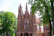 Church of St. Anne, Vilnius, Lithuania