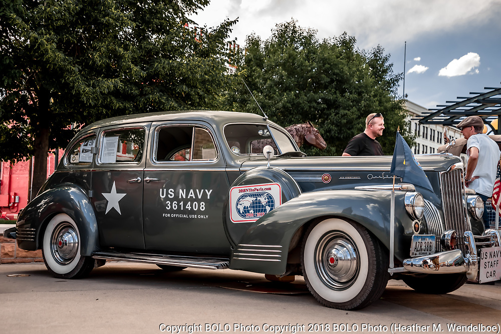 1941 Packard 160 owned by Roger<br /> Hershberger