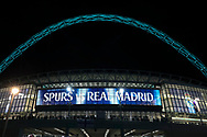 Wembley Stadium for Tottenham v Real Madrid during the Champions League match between Tottenham Hotspur and Real Madrid at Wembley Stadium, London, England on 1 November 2017. Photo by Matthew Redman.