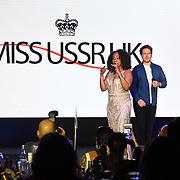 Sheyla Bonnick, Boney M performs at the Grand Final MISS USSR UK 2019 at Hilton hotel London on 27 April 2019, London, UK.