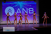Female fitness novice tall and short