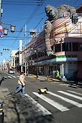 Street life in the Setagaya suburb of Tokyo. Japan