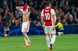 08-05-2019 NED: Semi Final Champions League AFC Ajax - Tottenham Hotspur, Amsterdam<br /> After a dramatic ending, Ajax has not been able to reach the final of the Champions League. In the final second Tottenham Hotspur scored 3-2 / Hakim Ziyech #22 of Ajax