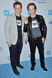 (L-R) We Day founders Marc Kielburger and Craig Kielburger arrives at We Day California 2017 held at The Forum in Inglewood, CA on Thursday, April 27, 2017. (Photo By Sthanlee B. Mirador) *** Please Use Credit from Credit Field ***