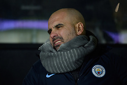 January 23, 2019 - Burton-Upon-Trent, Staffordshire, United Kingdom - Manchester City manager Pep Guardiola during the Carabao Cup match between Burton Albion and Manchester City at the Pirelli Stadium, Burton upon Trent on Wednesday 23rd January 2019. (Credit: MI News & Sport) (Credit Image: © Mark Fletcher/NurPhoto via ZUMA Press)