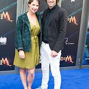 NLD/Amsterdam/20150620- Filmpremiere Code M, Iris Hesseling en Bart Boonstra