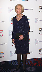 MARY BERRY arrives for the Radio Academy Awards, London, United Kingdom. Monday, 12th May 2014. Picture by i-Images