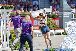 Protest<br /> European Championship Jumping<br /> Rotterdam 2019<br /> © Hippo Foto - Stefan Lafrentz