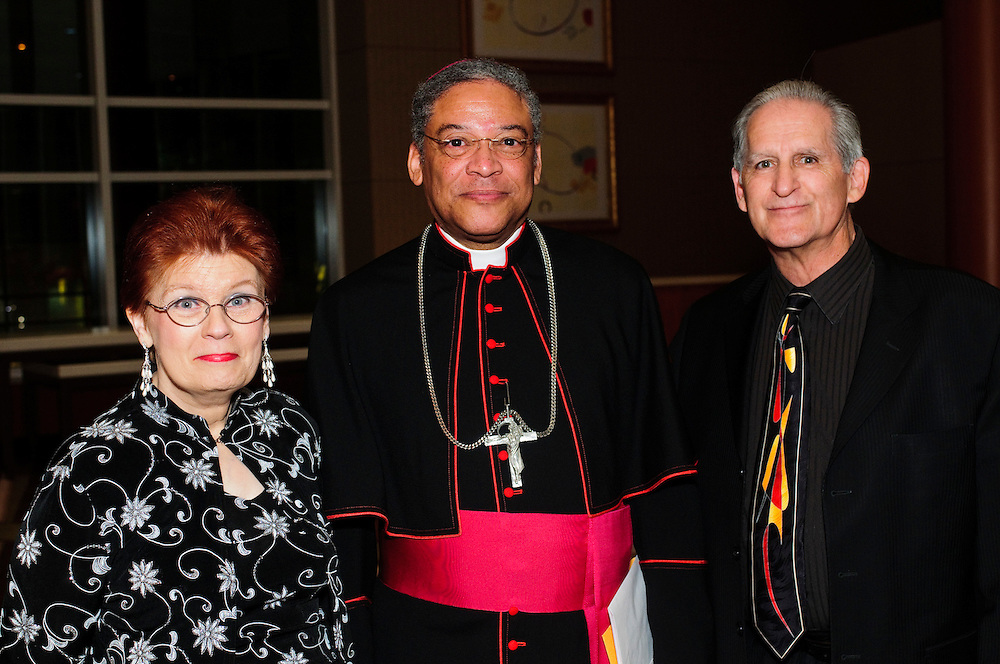 The Archdiocese of Chicago's Office for Black Catholics hosts it's second annual Gala for the Cause for Sainthood of Father Augustus Tolton at the Hyatt Regency McCormick Place on Friday, October 19th, 2012. The event is co-sponsored by The Father Tolton Guild and the Office of Vicariate VI and Bishop Joseph Perry l Brian J. Morowczynski~ViaPhotos..For use in a single edition of Catholic New World Publications, Archdiocese of Chicago. Further use and/or distribution may be negotiated separately. ..Contact ViaPhotos at 708-602-0449 or email brian@viaphotos.com.   .The Archdiocese of Chicago's Office for Black Catholics hosts it's second annual Gala for the Cause for Sainthood of Father Augustus Tolton at the Hyatt Regency McCormick Place on Friday, October 19th, 2012. The event is co-sponsored by The Father Tolton Guild and the Office of Vicariate VI and Bishop Joseph Perry.