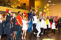 Opening of Homesense and TKMaxx combined store in Greenford. Greenford Cross Retail Park, London, October 04 2018.