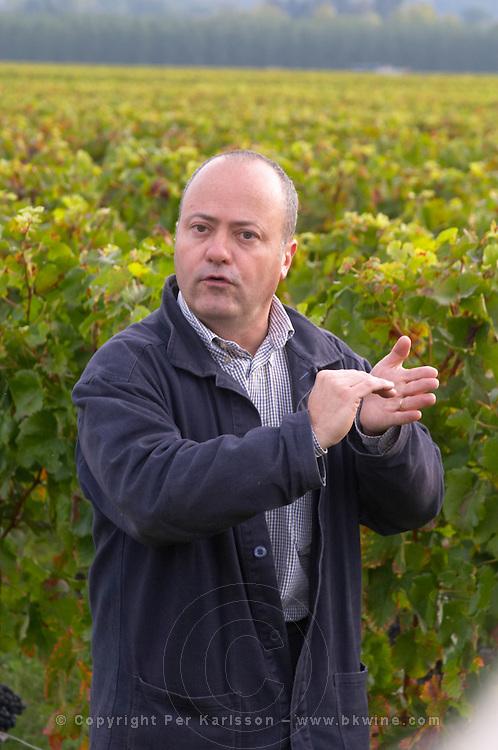 Francois Despagne, owner. Chateau Grand Corbin Despagne, Saint Emilion Bordeaux France
