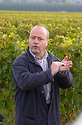 Francois Despagne, owner. Chateau Grand Corbin Despagne, Saint Emilion Bordeaux France
