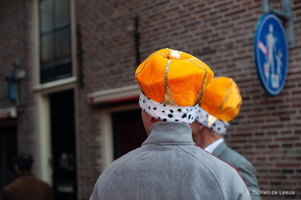 Viering van Koningsdag, Amsterdam