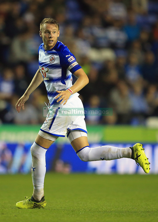 22 August 2017 -  EFL Cup Round Two - Reading v Millwall - Chris Gunter of Reading - Photo: Marc Atkins/Offside