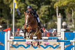 Appelen Jeroen, BEL, Nero De Semilly N.<br /> Belgian Championship 7 years old horses<br /> SenTower Park - Opglabbeek 2020<br /> © Hippo Foto - Dirk Caremans<br />  13/09/2020