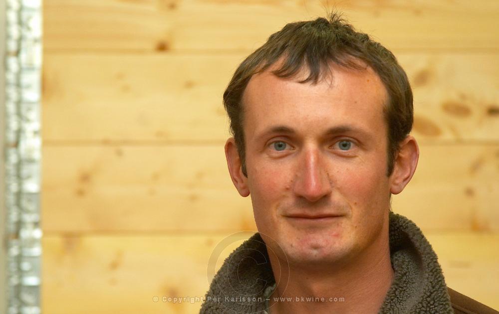 Vincent Paris, owner and wine maker.  Vincent Paris, Cornas, Ardeche, Ardèche, France, Europe