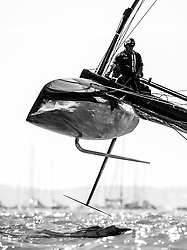 First racing day of the the Americas Cup world series Portsmouth. 23rd of July, 2016, Portsmouth, UK