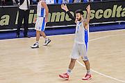 DESCRIZIONE : Eurolega Euroleague 2015/16 Group D Dinamo Banco di Sardegna Sassari - Maccabi Fox Tel Aviv<br /> GIOCATORE : Brian Sacchetti<br /> CATEGORIA : Ritratto Esultanza<br /> SQUADRA : Dinamo Banco di Sardegna Sassari<br /> EVENTO : Eurolega Euroleague 2015/2016<br /> GARA : Dinamo Banco di Sardegna Sassari - Maccabi Fox Tel Aviv<br /> DATA : 03/12/2015<br /> SPORT : Pallacanestro <br /> AUTORE : Agenzia Ciamillo-Castoria/L.Canu