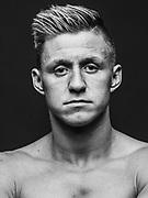 BOXEN: Studio, Portrait of a Boxer, Winsen, 07.03.2018<br /> Sebastian Formella<br /> © Torsten Helmke