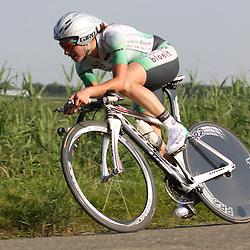 Sportfoto archief 2006-2010<br /> 2010<br /> Marianne Vos opweg naar haar eerste nationale titel bij de vrouwen op de tijdrit in Oudenbosch
